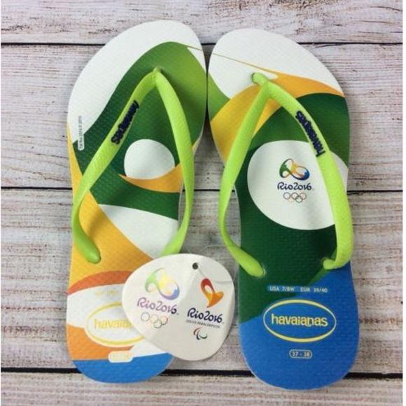 521598b6d50 Havaianas Rio Olympics 2016 Flip Flops Sandals 7 8